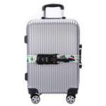 Оригинал IPRee®5CMПолиэстерРегулируемый3-значныйпароль Безопасность Багаж Ремень На открытом воздухе Travel Чемодан Ремни