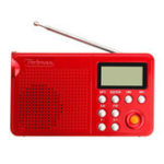 Оригинал Pobnze KK-F163 LED Фонарик Радио Elderly Dual Стандарты Зарядная плата Радио MP3-плеер