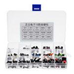Оригинал 15 Типы Тактильные Кнопочный Переключатель Микропереключатель DIP SMD 4 Контакт для Индукционной Плиты Электрическая Панель