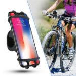 Оригинал RAXFLYЭластичнаярегулируемаяпряжкаВелосипедHandlebar Mount Phone Holder для мобильного телефона Xiaomi