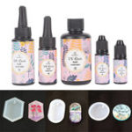 Оригинал UV Смола Soft Тип Ультрафиолет Солнечная Лечебное средство для лечения солнечных лучей Активированный кристалл DIY Изготовление ювелирных из