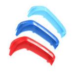 Оригинал 3шт трехцветная пластиковая передняя центральная решетка крышки для BMW 1Series