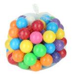 Оригинал 100 шт. 8 см Baby Kid Pit Toy Плавать Colorful Soft Пластиковый Мяч Океан Новинки Игрушки