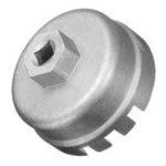 Оригинал 14 Флейты 64.5mm 3 / 8inch Масло Фильтр Гаечный ключ Cap Remover Инструмент Для Lexus / Toyota / RAV4 Camry