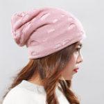 Оригинал Мужчины Женское Зимняя плюшевая шапка Kint Beanie Cap Наушники Лыжная тюбетейка