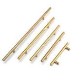 Оригинал 12mm Diameter Stainless Steel T Bar Handles Kitchen Cupboard Drawer Door Handles