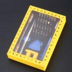 Оригинал 37 in1 Set Precision Отвертка Инструмент Ремонт Инструмент Набор Для портативного ПК для мобильных телефонов