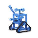 Оригинал DIY STEAM Собранный RC-робот Образовательный Набор Пластиковый гусеничный экскаватор Ремень С 370 DC Мотор Для Arduino