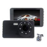 Оригинал H6 4 дюймов 1080P 30 к / с Авто Авто Видеорегистратор камера 170 градусов широкоугольный