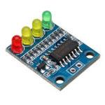Оригинал FXD-82B 12V Батарея Индикаторная плата Модуль нагрузки 4-разрядная электрическая индикация с LED Лампа