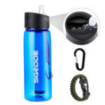 Оригинал SGODDE22,2унцииспортивнаябутылкадля воды BPA Free с фильтром На открытом воздухе Portable Travel