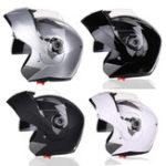 Оригинал мотоцикл Full Flip Up Helmet Dual Объектив Anti-Fog