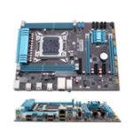 Оригинал Компьютерная игровая материнская плата ATX для Intel X79 Поддержка LGA 2011 DDR3 для i7 / E5