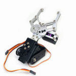 Оригинал 2DOF Robot Arm Gripper Зажим RC Robot Parts