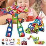 Оригинал 91 PCS Магнитные игрушки Строительные блоки Обучающие игрушки Необычные головоломки
