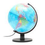Оригинал 25 см 110V World Globe Night Light Geography LED Лампа Детский подарок для спальни Decor US Plug