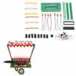Оригинал DIY Микрокомпьютер с одним чипом Лазер Harp Набор Electronic Piano Music Коробка