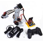 Оригинал DIY Arduino 6DOF Роботизированный манипулятор из нержавеющей стали PS2 Палка Control
