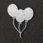 Оригинал Воздушный шар Металлический альбом для фотографий Бумажное ремесло DIY Режущие матрицы