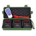 Оригинал Дистанционное Управление Выключатель 12 Cue Беспроводная электронная фейерверковая система Дистанционный с 12 зажигателями E-Match