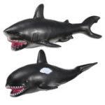 Оригинал 30 см Белая акула Киллер-кит Soft Модель Игрушки Клей Материал