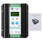 Оригинал 12V 24V 400W Ветер Солнечная Контроллер гибридного заряда Уличный фонарь Регулятор ветра Генератор