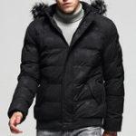 Оригинал Мужская зима Толстый теплый Съемный с капюшоном Мягкая куртка Parka