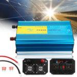 Оригинал 12V / 24V до 110V / 220V 2000W Чистый инвертор волны синуса Авто LCD Солнечная Преобразователь мощности