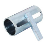 Оригинал 1 дюйм до 1-1 / 8-дюймовый газ Двигатель Адаптер для втулки вала картера шкива C 1/4-х дюймовый шаговый ключ