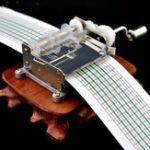 Оригинал 15 Тон DIY Рука с коленчатой палисандровой музыкой Коробка С отверстиями и бумажными лентами