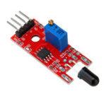 Оригинал KY-026 Модуль пламени Датчик IR Детектор Датчик для определения температуры Для Arduino