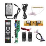 Оригинал T.RD8503.03 Универсальный LCD LED Плата драйвера ТВ-контроллера +7 Кнопка ключа + 2-канальный 8-битный 40-контактный кабель LVDS + 4 шт. Лампа Инвертор + Ди