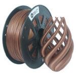 Оригинал CCTREE® 1,75 мм 1 кг / рулонная металлическая бронза / Медь заполненная нить для Creality CR-10 / Ender 3/Anet 3D-принтер