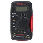 Оригинал M320 True RMS LCD Цифровой автоматический диапазон Мультиметр AC / DC тестер Вольтметр