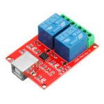 Оригинал Free Drive UBS Control Switch 2 Way 5V Релейный Модуль Компьютерный Контроль Переключатель ПК Интеллектуальное Управление