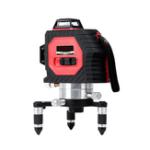 Оригинал 50M Лазер Уровень Супер Сильный 12 Line Инфракрасный Красный Свет Полный Настенный Измеритель С Дополнительным Detec
