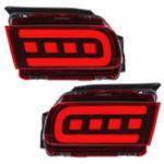Оригинал Авто LED Отражатель заднего бампера, противотуманные фары, стоп-сигналы для Тойота Крузер Прадо 2018