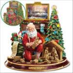 Оригинал РождествоРождествоСанта5DDIYПолный Алмаз Живопись Вышивка Крестом Украшения