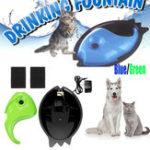 Оригинал Pet Puppy Электрический Циркуляционный Питьевой Воды Фонтан Waterer Чаша Цикл Питателя Собака Кот