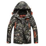Оригинал Ветрозащитная толстая куртка Camo Multi Pockets На открытом воздухе