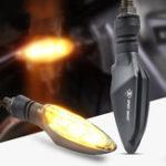 Оригинал Spirit Beast 12V мотоцикл LED Фонарь указателя поворота Янтарный цвет Супер яркий Водонепроницаемы