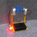 Оригинал DIY Ветрогенератор Модель Наука Образование Эксперимент Физическая культура Инструмент Творческая игрушка