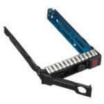 Оригинал ELE 2,5-дюймовый корпус Caddy лотка для жесткого диска для HP 651687-001 Gen8 G8 DL380 ML310e SL250s