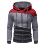 Оригинал Mens Fashion Hooded Cotton Casual Sweatshirt