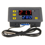 Оригинал W3230 DC 12V / AC110V-220V 20A LED Цифровой регулятор температуры Термостат Термометр Переключатель контроля температуры