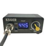 Оригинал KSGER MINI STC LED T12 Пайка Утюг Пайка Регулятор температуры станции Модернизированная версия