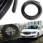 Оригинал 5m Rubber Car Interior Moulding Trim Strip Black Flexible Decoration Dashboard Door Edge Line