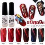 Оригинал 5D Red Magnetic Ногти Гель Польский