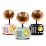 Оригинал 5 Вт Фонограф Bluetooth Поддержка динамиков AUX play TF Card Play FM Радио