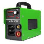 Оригинал Портативный ZX7-200 220В 20А-200А MINI IGBT ARC Сварочный аппарат Полуавтоматический инвертор LCD Пайка Инструмент